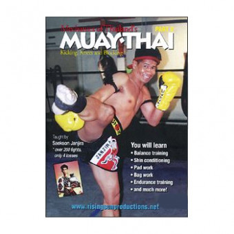 Mechanics of Thailand's Muaythai 2-Kicking,Knees and Blocking-Saekson Janjira